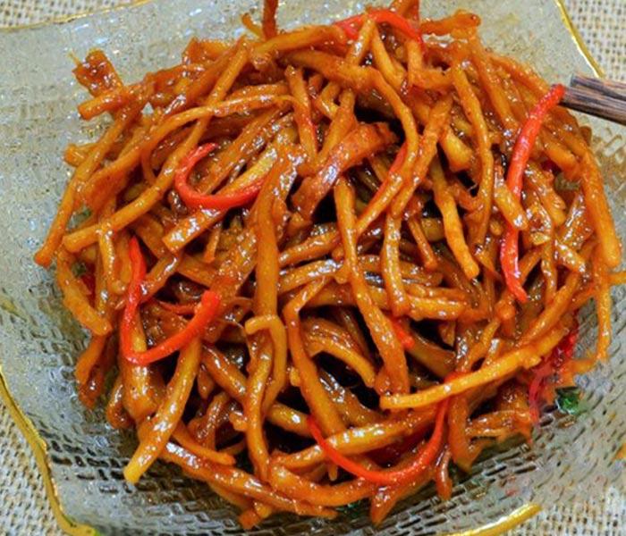Mực khô xào chua ngọt - Món ăn đơn giản, cả nhà cùng mê