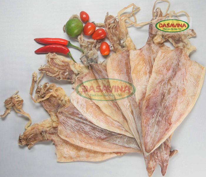 Mực khô Cô Tô thương hiệu Bá Kiến chất lượng cho các món ăn về mực khô luôn hấp dẫn, đảm bảo