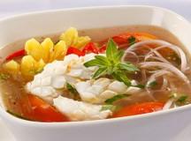 Mực nấu canh chua ngọt thanh mát lành