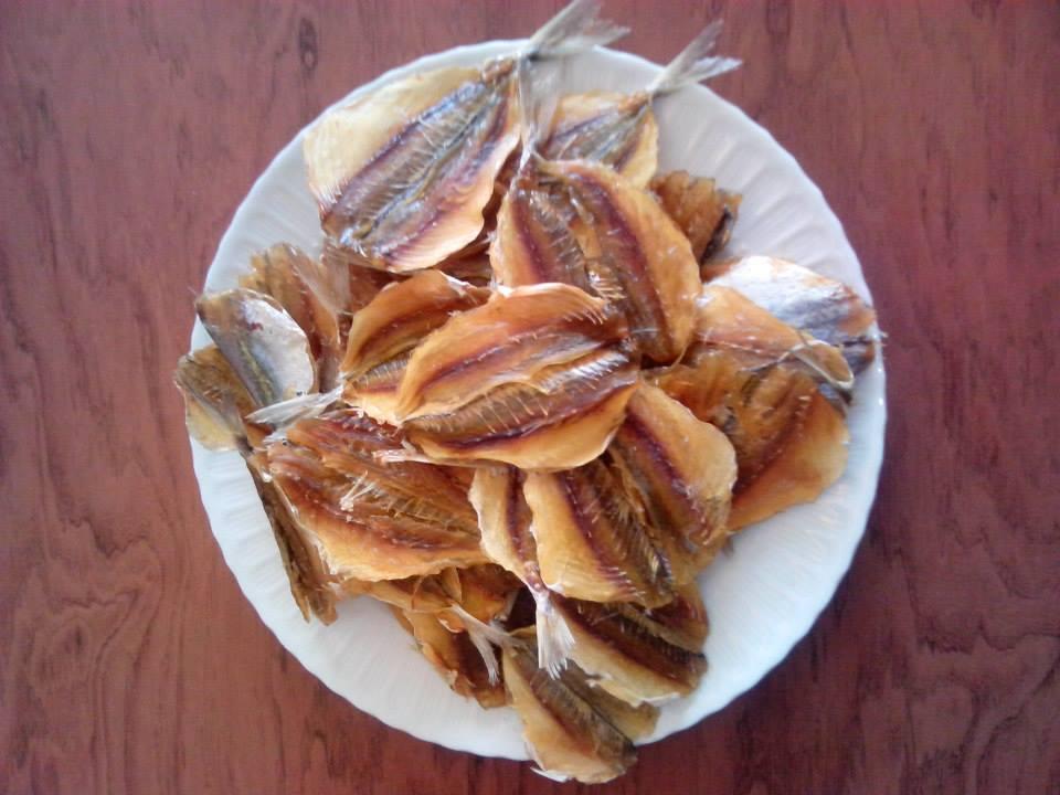 Cá chỉ vàng khô nướng
