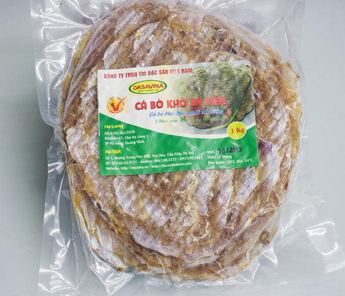 Cá bò khô thương hiệu Bá Kiến chất lượng cao