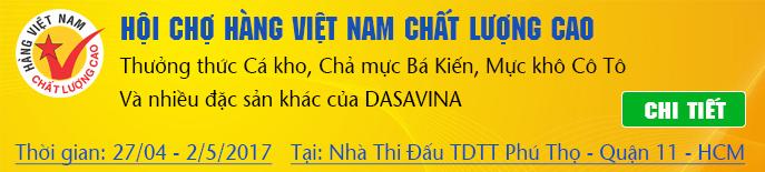 Hội chợ hàng Việt Nam chất lượng cao