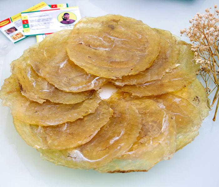 Cá Bò Khô ngon có màu vàng trong, mùi thơm đặc trưng