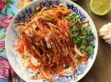 Hướng dẫn cách làm món cá bò khô tẩm gia vị