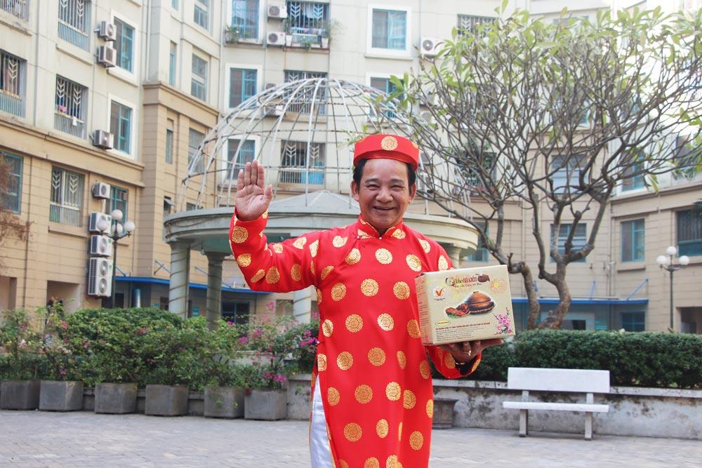 Nghệ sĩ Quang Tèo chỉ tin tưởng lựa chọn cá kho Bá Kiến