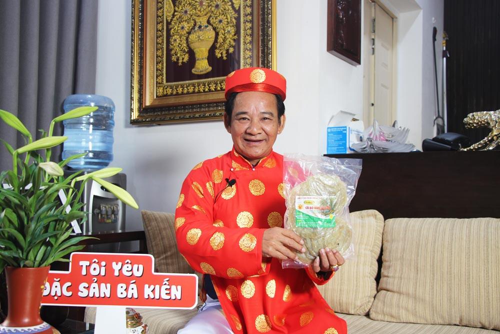 Nghệ sĩ Quang Tèo yêu thích món Cá Bò Khô Bá Kiến