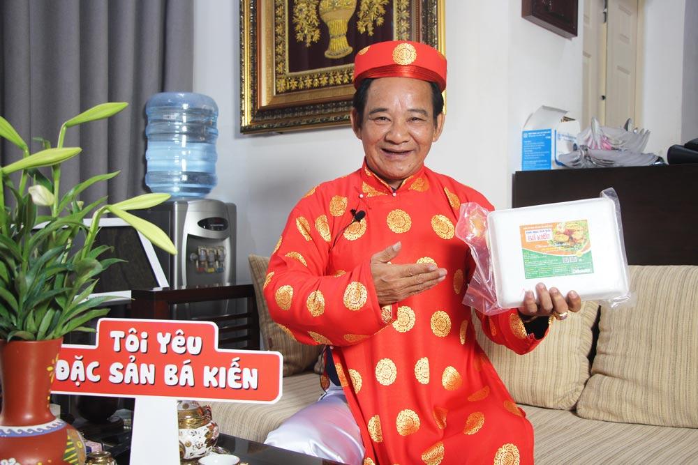 Nghệ sĩ Quang Tèo đánh giá cao chất lượng món Chả mực Hạ Long