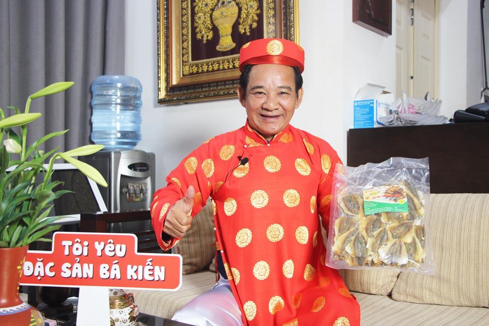 Nghệ sĩ Quang Tèo yêu thích món Cá Chỉ Vàng Bá Kiến