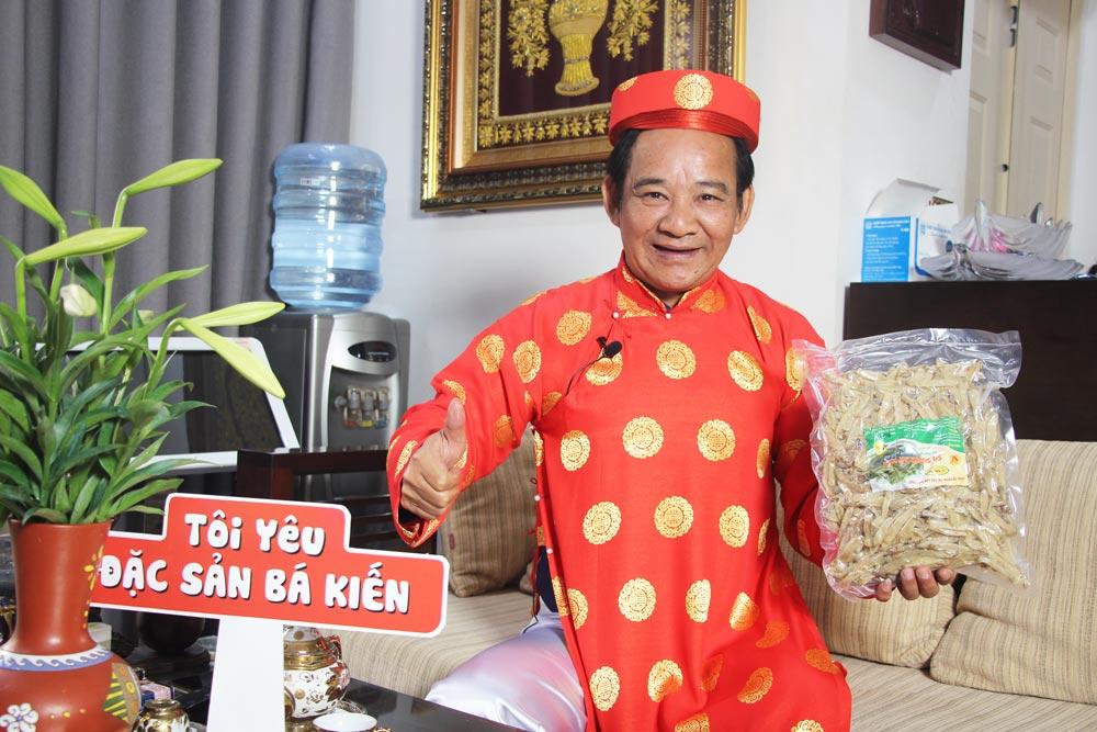 Nghệ sĩ Quang Tèo đánh giá cao chất lượng Sá Sùng Bá Kiến