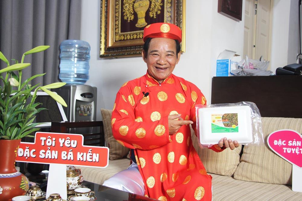 Nghệ sĩ Quang Tèo đánh giá cao chất lượng Rươi Tứ Kỳ