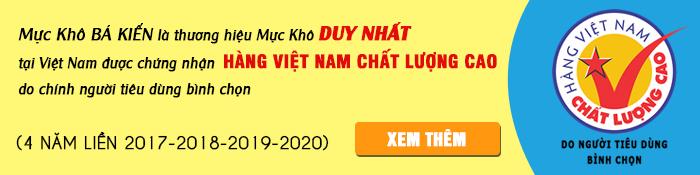 Chứng nhận hàng Việt Nam chất lượng cao