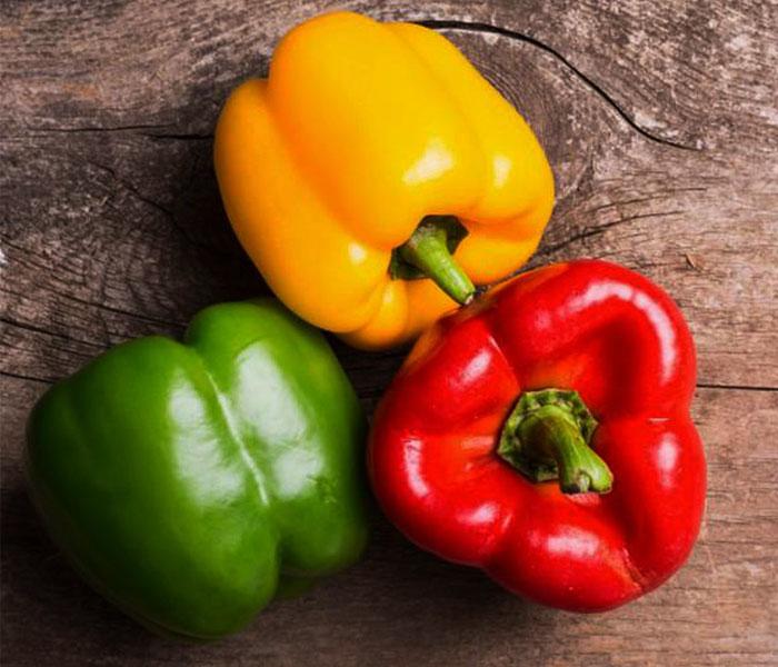 Ớt chuông - Nguyên liệu không thể thiếu cho món mực xào sả ớt chuông