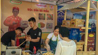 """Các hoạt động nổi bật của Mực khô Bá Kiến tại hội chợ """"Made in Viet Nam"""""""