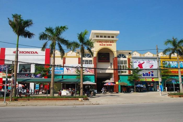 Chợ hải sản Cột Đỏ, Sầm Sơn, Thanh Hóa