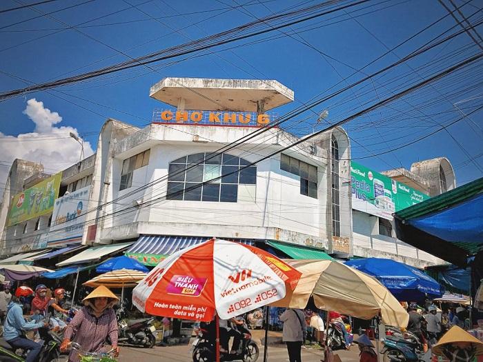 Chợ khu 6 ở Quy Nhơn